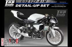 1:12 YZF-R1M Detail-up Set (Top Studio)