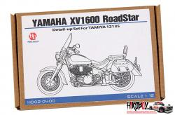 1:12 Yamaha XV1600 Roadstar Detail up Set