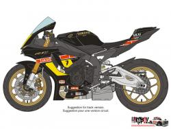 "1:12  Yamaha YZF-R1M Spirit of ""Barry Sheene"" Decals"