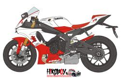 1:12 Yamaha YZF-R1 20th Anniversary Decals (for Tamiya 14133)