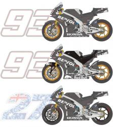1:12  Honda RC213V Test 2014/2015 (M. Marquez / C. Stoner) Resin and Decals