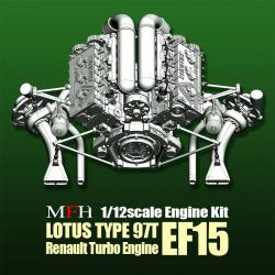1:12  Engine Kit Series : Lotus Type 97T Engine