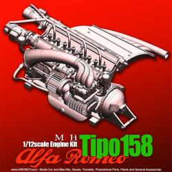 1:12  Engine Kit Series : Alfa Romeo Tipo 158 Engine