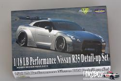 1:18 LB Performance Nissan GT-R R35 Detail-up Set