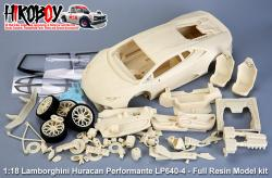 1:18 Lamborghini Huracan Performante LP640-4 - Full Resin Model kit