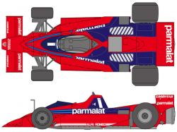 1:20 Brabham BT46B 1978 Sweden Decals for Fujimi