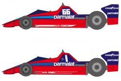 1:20 Brabham BT46 1978-79 Decals for Tamiya
