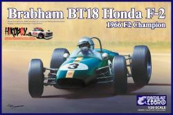 1:20  Brabham BT 18 Honda F-2 1966 F 2 Champion by Ebbro - Pre-order Now