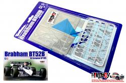 1:20 Detail up Parts for Brabham BT52B '83 European GP