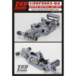 1:20 F2003 GA Super Detail up Set