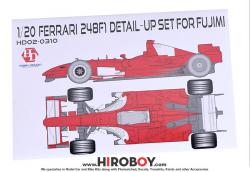1:20 Ferrari 248F1 Photoetched/Resin Detailing Set (Fujimi)