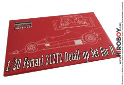 1:20 Ferrari 312T2 Photoetch Detail-Up Set for Hasegawa