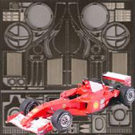 1:20 Ferrari F2001 Photoetched Detail Set #8107