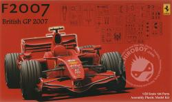 1:20 Ferrari F2007 British Grand Prix
