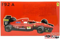 1:20 Ferrari F92A (1992 Late Version) (GPSP8)