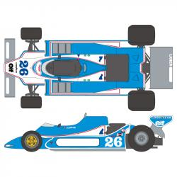 1:20 Ligier JS11 Ford 1979  Decals (Tamiya)