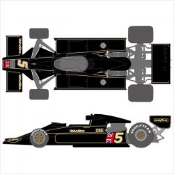 1:20 Lotus 78 - Team Lotus 1977 J.P.S. Decals for Tamiya