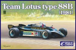 1:20 Lotus 88B by Ebbro