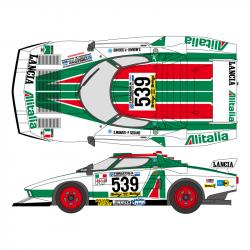 1:20 Alitalia Fiat Stratos Turbo 1977 Decals (Tamiya)