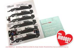1:20 McLaren MP4-31 Sponsor Decals (Ebbro)