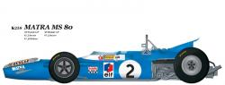 1:20 Matra MS80 verB  Full detail Multi-Media Model Kit
