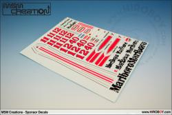 1:20 Mclaren M23 1976/77 Full Decal (Marlboro)