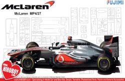 1:20 Mclaren MP4/27 Australia Grand Prix Model Kit