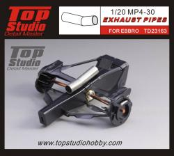 1:20 Mclaren MP4/30 Exhaust Pipes (Ebbro)