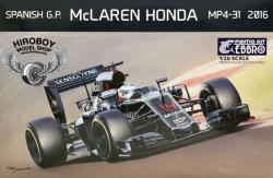 1:20 Mclaren MP4/31 Spanish G.P. 2016 (F.Alonso/J.Button)