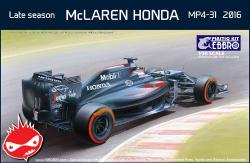 1:20 Mclaren MP4/31 Late Season 2016