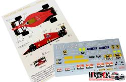 1:20 Ferrari 641/2 (1990 France GP) Decals (for Fujimi)