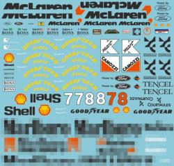1:20 Mclaren MP4/8 Full Sponsor Decal (Marlboro)