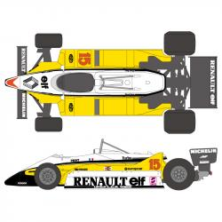 1:20 Renault RE30B 1982 Decals (Tamiya)
