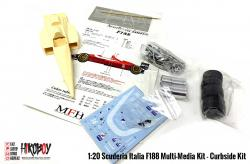 1:20 Scuderia Italia F188 Multi-Media Kit - Curbside Kit