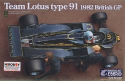 1:20 Team Lotus Type 91 (Lotus 91) by Ebbro