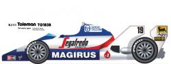 1:20 Toleman TG183B Early version   Full detail Multi-Media Model Kit