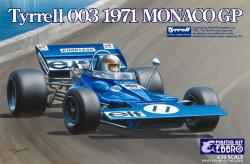 1:20 Tyrrell 003 by Ebbro