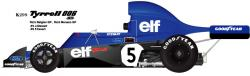 1:20 Tyrrell 006 Belgium GP Monaco GP  Full detail Multi-Media Model Kit