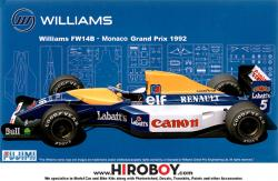 1:20 Williams FW14B Monaco GP 1992 (GP24)