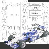 1:20 Williams FW24 Composite Fiber Decal Template Set #7008