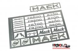 1:24/1:25 MACK Badge Set