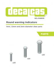 Round Warning Indicator (Various Sizes)