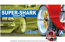 "1:24 14"" Super Shark Wheels and Tyres"