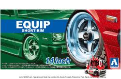 "1:24 14"" Equip Short-Rim Wheels and Tyres"