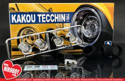 "1:24 14"" Kakou Tecchin Type 1 Wheels and Tyres"