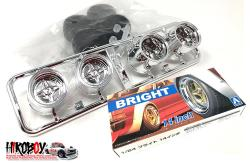 "1:24 14"" SSR Bright Speed Wheels and Tyres"