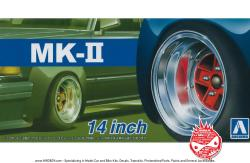 "1:24 14"" SSR Mk2 (MK-II) Speed Star Wheels and Tyres"