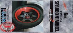 "1:24 17"" Sparco N1 Wheels and Tyres"