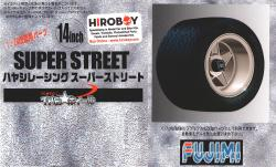 "1:24 14"" Hayashi Super Street Wheels and Tyres"