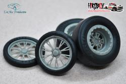 "1:24 15/17"" Wheels RC Comp Hummer with Tyres"